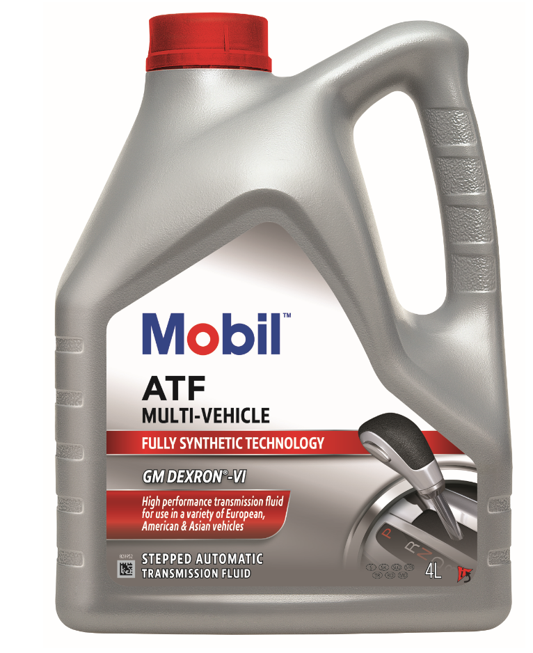 Mobil ATF Multi-Vehicle: new transmission oil suitable for use in a wide range of applications