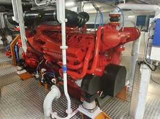 Doubling the oil drain interval with Mobilgard HSD+ 15W40: Marine Success Story