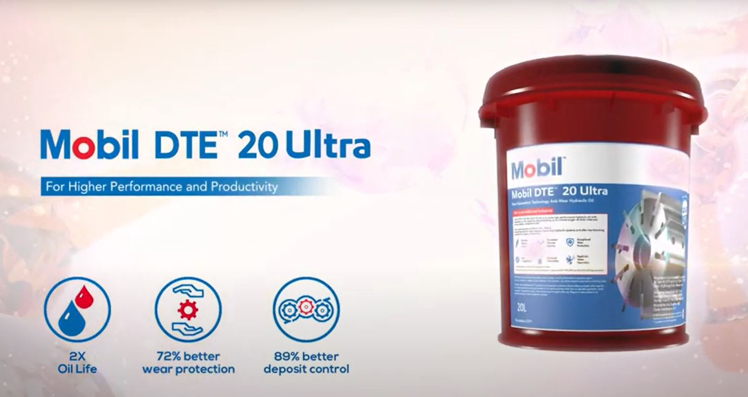 Product update: introduction Mobil DTE™ 20 Ultra Series as replacement of Mobil DTE 20 Series