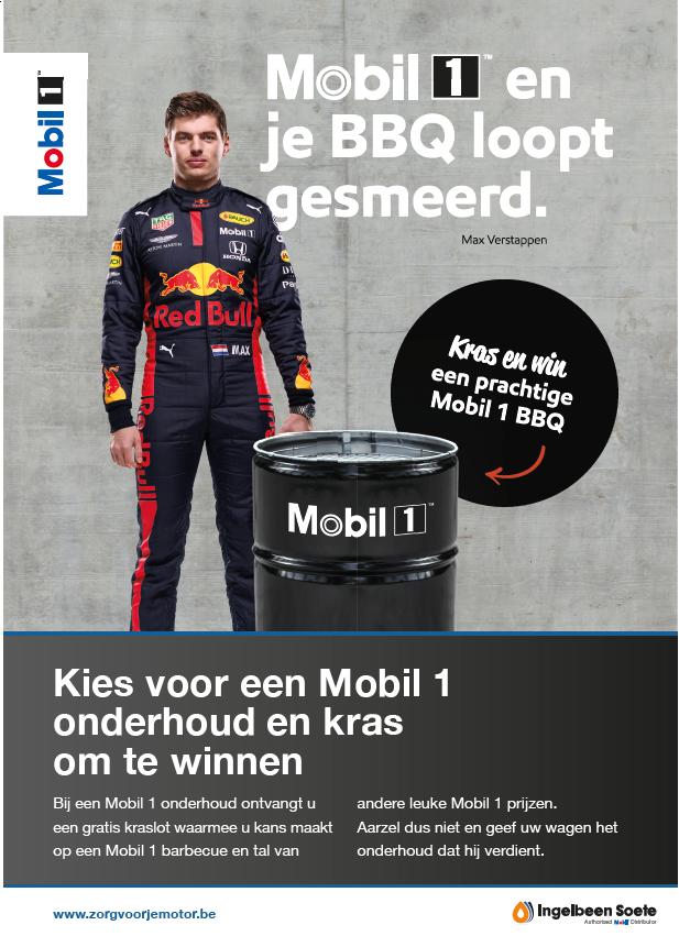 Win een Mobil 1 barbecue!
