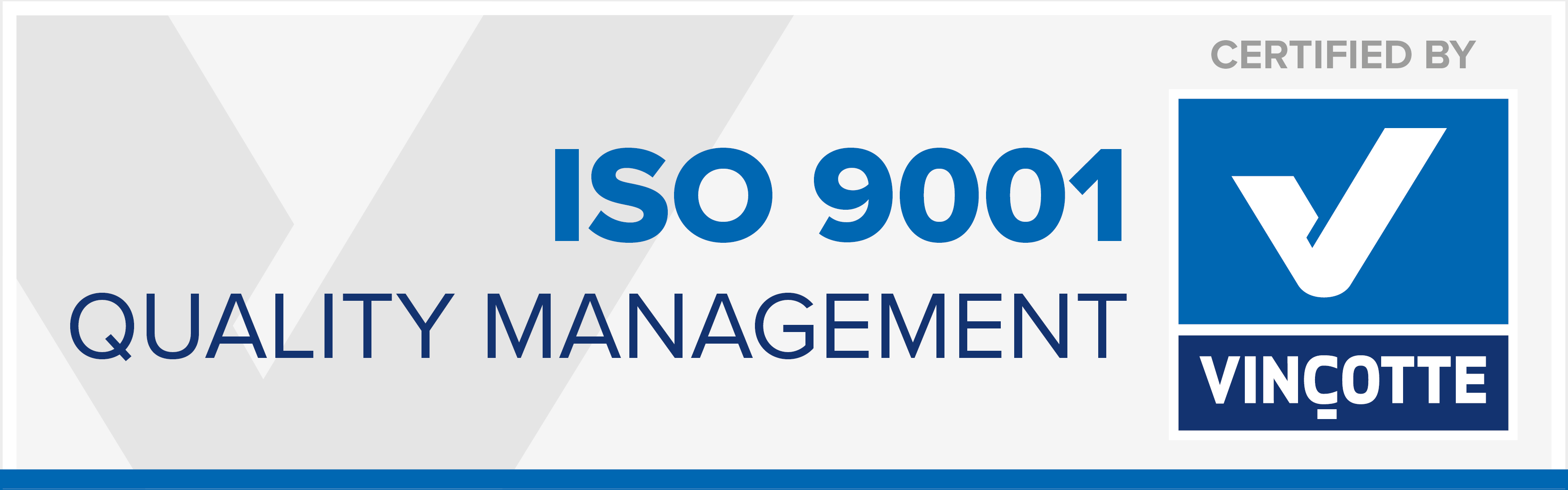 ISO-9001:2015 approval for Ingelbeen-Soete