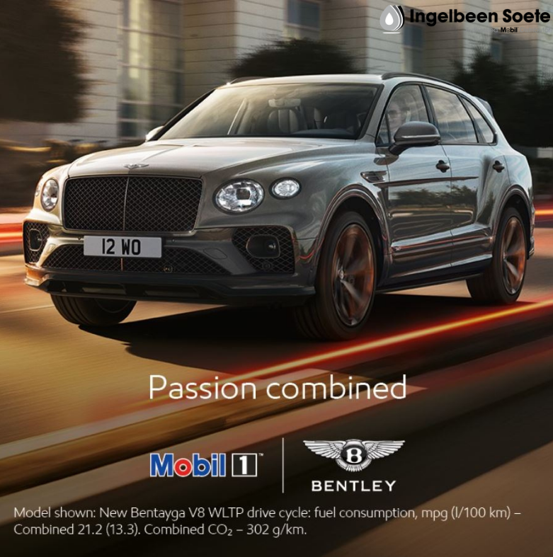 Bentley & Mobil 1: a long history of great partnership
