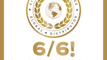 Six sur six avec notre 6ème Golden ExxonMobil Circle of Excellence Awards en 6 ans!