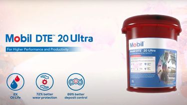Product update: introductie Mobil DTE™ 20 Ultra Serie ter vervanging van Mobil DTE 20 Serie